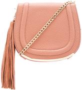 BCBGeneration Tassel Saddle Bag