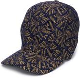 Henrik Vibskov leaf pattern baseball cap