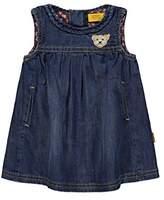 Steiff Girl's Kleid o. Arm Jeans 6833108 Dress