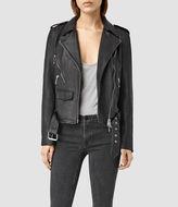 AllSaints Rawley Leather Biker Jacket