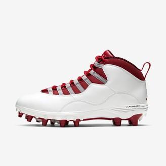 Nike Men's Football Cleat Jordan 10 TD Mid