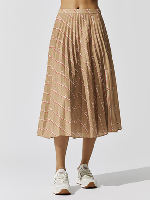 Chinti and Parker Ciao Pleated Skirt