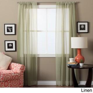Ricardo Lucerne 84-inch Sheer Curtain Pair Panel - 52 x 84 - 52 x 84
