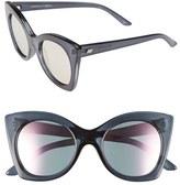 Le Specs Women's 'Savanna' 51Mm Sunglasses - Slate