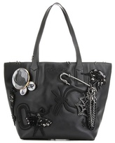Marc Jacobs Wingman embellished leather shopper