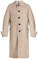 Burberry Oversized tropical-gabardine trench coat