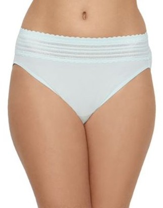 Warner's Womens No Pinching. No Problems. Hi-Cut Brief Style-5109