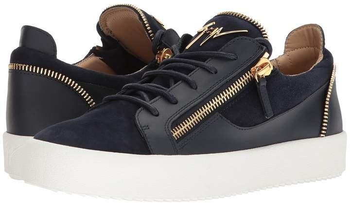 Giuseppe Zanotti May London Zipper Low Top Sneaker Men's Shoes