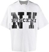 Buscemi boxy-fit logo print T-shirt