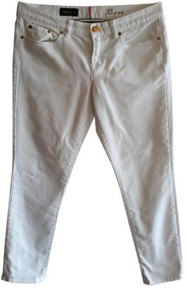 J.Crew White Cotton Jeans for Women