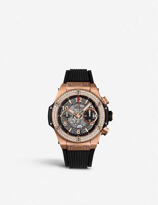 Hublot 441.NX.1170.RX.1104 Big Bang UNICO titanium and diamond watch