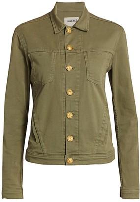 L'Agence Celine Slim-Fit Miltary Jacket