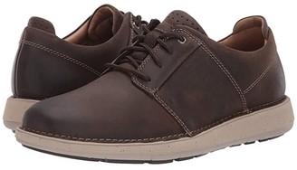Clarks Un Larvik Lace (Brown Oily Leather) Men's Shoes