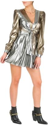 Alberta Ferretti Short Mini Dress Long Sleeve