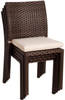 International Home Miami Atlantic Liberty Set Of 4 Side Chairs
