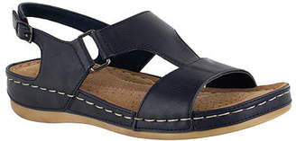 Easy Street Shoes Womens Sami Strap Sandals