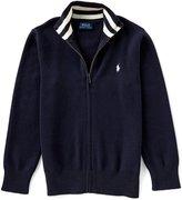 Ralph Lauren Little Boys 5-7 Full-Zip Sweater