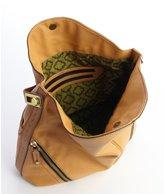 Oryany sunset gold pebbled leather 'Jacqueline' hobo bag