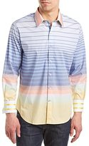 Robert Graham Men's Peach Springs Long Sleeve Button-Down Shirt