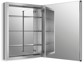 "Kohler VerderaA 24"" W X 30"" H Aluminum Medicine Cabinet"