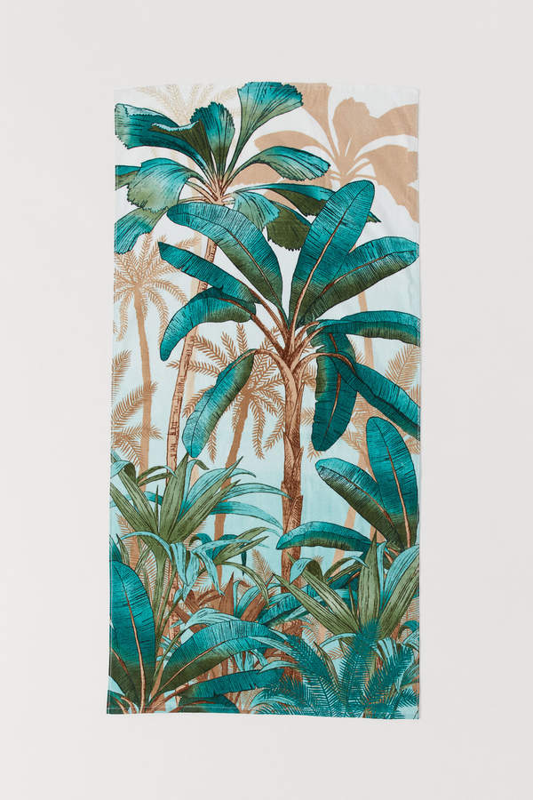 H&M Patterned Beach Towel