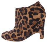 Christian Louboutin Ponyhair Ankle Boots