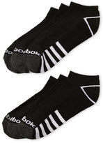 Reebok 6-Pack Black Low Cut Socks
