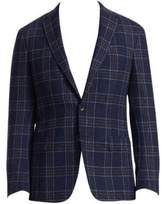 COLLECTION Boucle Plaid Sportcoat