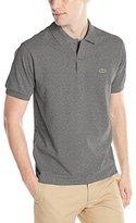 Lacoste Men's Short Sleeve Classic Chine Fabric L.12.64 Original Fit Polo Shirt