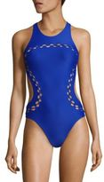 Mikoh Swimwear Mahina One-Piece Swimsuit