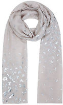 Yours Clothing YoursClothing Plus Size Womens Shawl Ladies Foil Print Dragonfly Scarf