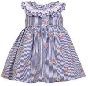 Iris & Ivy Little Girl's Seersucker Dress