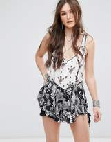 Free People Mixed Printed Cami