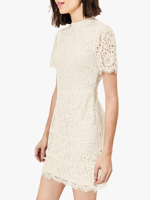 Oasis Lace Shift Dress, Off White