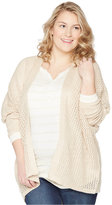 Wendy Bellissimo Maternity Plus Size Open-Front Cardigan