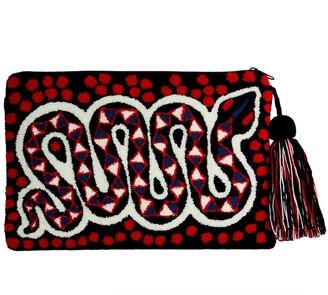 Mama Tierra Maa'ala Clutch M Red