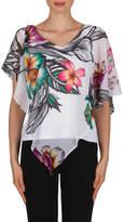 Joseph Ribkoff Multi Floral Top