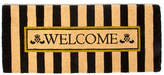 Mackenzie Childs MacKenzie-Childs Awning Stripe Double Door Welcome Doormat