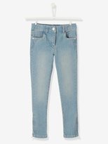 Vertbaudet Girls MEDIUM Waist Slim Cut Jeans