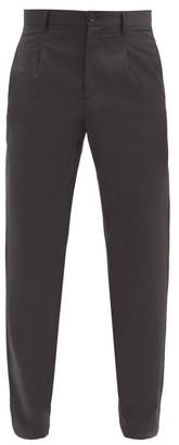 A.P.C. Dorian Pinstriped-wool Trousers - Grey
