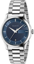Gucci Ya126440 G-timeless Stainless Steel Watch