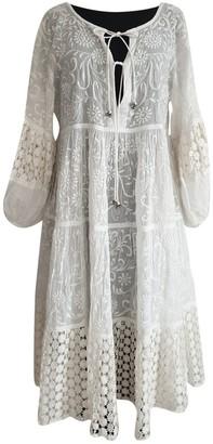 Quay White Cotton Dress for Women