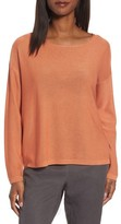 Eileen Fisher Women's Tencel & Wool Boxy Sweater