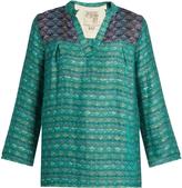 Ace&Jig Smith woven cotton-blend top