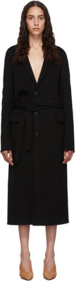 Bottega Veneta Black Wool Coat