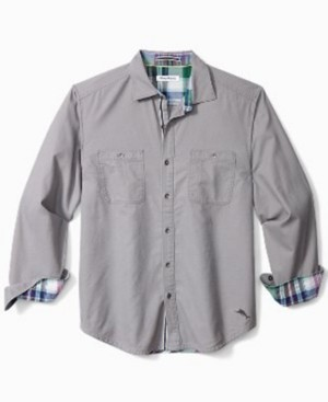 Tommy Bahama Men's Beach Fire Flannel Shirt