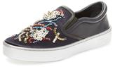 Christian Dior Beaded Slip-On Sneaker