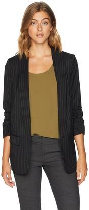 Kensie Women's Wallstreet Stripe Blazer