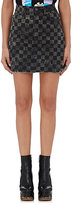 Marc Jacobs Women's Checked Denim Miniskirt