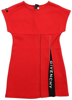 Givenchy Cotton Blend Milano Knit Dress